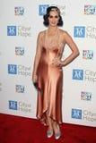 Katy Perry llega la ciudad del acontecimiento de Bob Pittman de los honores de la música de la esperanza y del grupo de la industr fotografía de archivo