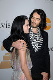 Katy Perry,Russell Brand Royalty Free Stock Photos