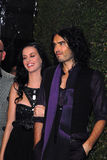 Katy Perry,Russell Brand Royalty Free Stock Photo