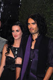 Katy Perry,Russell Brand Stock Image