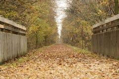 katy trail för bro Arkivbild