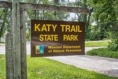 Katy Trail State Park Image libre de droits
