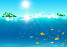 katya lata terytorium krasnodar wakacje Tropikalna ocean wyspa royalty ilustracja