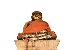 Katyayana bronze craving statue Royalty Free Stock Photography