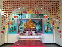 Katyayana Buddhist. In Thailand Royalty Free Stock Photo