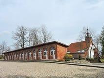 Katyciai town , Lithuania stock photo
