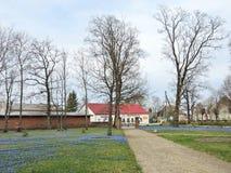 Katyciai town , Lithuania Royalty Free Stock Image