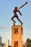 Katyn Massacre Memorial - Jersey City. Katyn Massacre Memorial in Jersey City at Hudson River front - USA Stock Photo