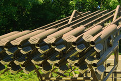 Katyusha rocket launcher Stock Photography