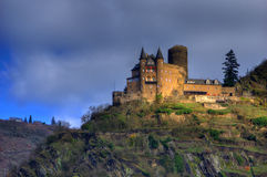 Katz Castle, Deutschland Lizenzfreies Stockbild