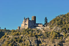 Katz slott i Tyskland Royaltyfri Bild