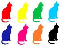 Katze 01 Stock Abbildung