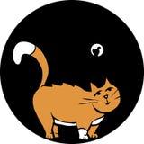Katze im Rohr Lizenzfreie Stockfotos