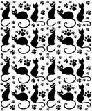 Katze-Muster lizenzfreie abbildung