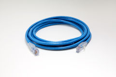 Katze RJ45 Kabel des Ethernet-6 Stockfotografie