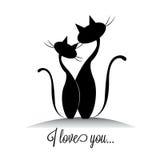 Katzen Lizenzfreie Stockbilder
