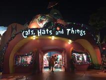 Katzen, Hüte und Sachen, Universalstudio, Orlando, FL lizenzfreie stockfotografie