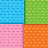 Katzen-Muster-Hintergrund Lizenzfreie Stockbilder