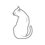 Katzenentwurf Stockfotos