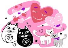 Katzenliebe Lizenzfreies Stockbild