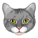 Katzenlogo Lizenzfreies Stockfoto