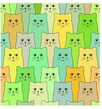 Katzenmuster vektor abbildung