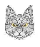 Katzenverzierungsdekoration Lizenzfreies Stockfoto