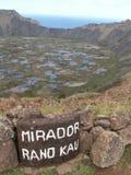 Kau de Mirador Ranu Foto de archivo libre de regalías
