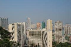 Kau Pui Lung väg, Lok Man Sun Chuen royaltyfria bilder