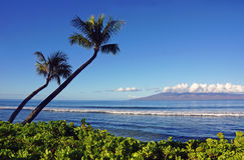 Kauai ακτή Στοκ εικόνα με δικαίωμα ελεύθερης χρήσης