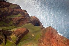 kauai ακτών pali NA Στοκ φωτογραφίες με δικαίωμα ελεύθερης χρήσης