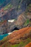 kauai ακτών pali NA Στοκ φωτογραφία με δικαίωμα ελεύθερης χρήσης