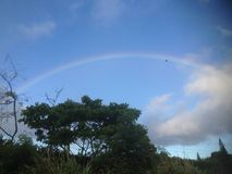 Kauai ουράνιο τόξο Στοκ φωτογραφίες με δικαίωμα ελεύθερης χρήσης
