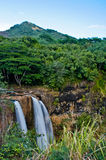 kauai πτώσεων wailua Στοκ Εικόνες