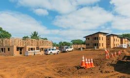 KAUAI, ΧΑΒΑΗ, ΗΠΑ - 28 ΔΕΚΕΜΒΡΊΟΥ 2014: εργοτάξιο οικοδομής και Tj Στοκ Εικόνες