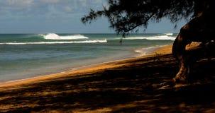 Kauai Beach. Beautiful Image of a beach On Kauai at napali coast Stock Photo