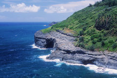 Kauai cliffs Stock Photo