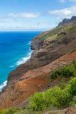 Kauai Coast line Stock Photo