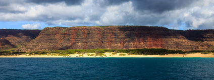 Kauai Coastline Royalty Free Stock Image