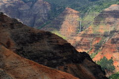 Kauai Grand Canyon Immagini Stock Libere da Diritti