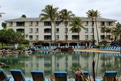 KAUAI_HAWAI_life em Kauai Foto de Stock