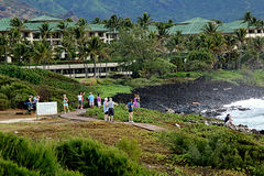 KAUAI_HAWAI_life em Kauai Imagens de Stock Royalty Free