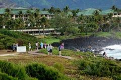 KAUAI_HAWAI_life en Kauai Imágenes de archivo libres de regalías