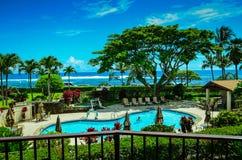 Kauai hawaianska öar Fotografering för Bildbyråer