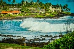 Kauai hawaianska öar Arkivbild