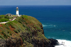 Kauai , Hawaii Lighthouse. Stock Images