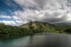 Kauai, Hawaje plaża Zdjęcia Royalty Free