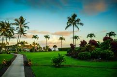 Kauai, islas hawaianas Imágenes de archivo libres de regalías