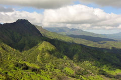 Kauai Landscape On Hawaii, USA Royalty Free Stock Image
