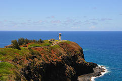 Kauai-Leuchtturm Lizenzfreie Stockbilder